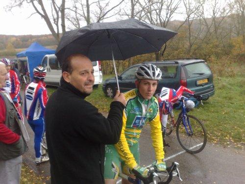 Matthieu: expérience cyclo-cross !