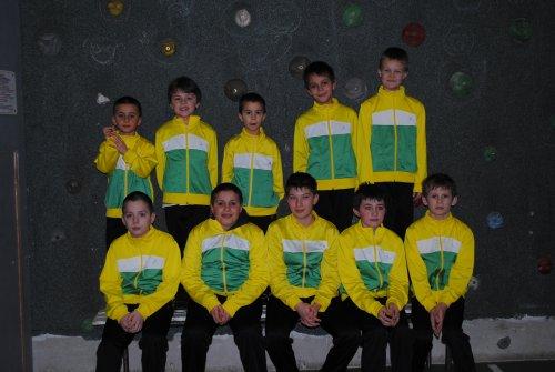 Photo de groupe pour l'école de vélo !