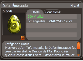 Xavi-King : Dofus Emeraude