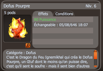 Xavi-King : Dofus Pourpre