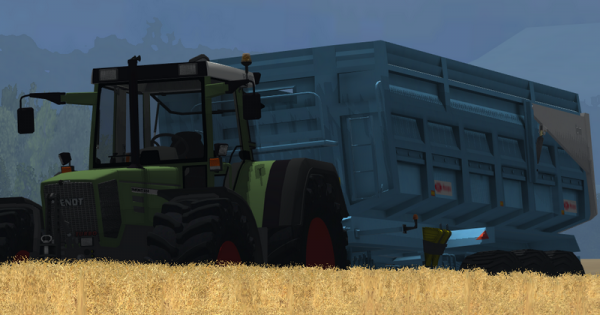 [WIP Benne Maupu 3 essieux TEAM AGRICOLE-GAMING