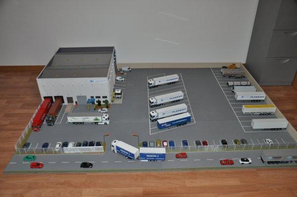 diorama transports Plessier 1/43