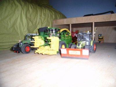 chantier de  maïs