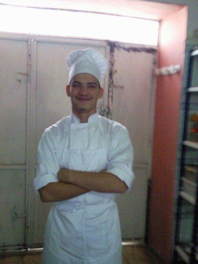 Moi en mode cuisinier