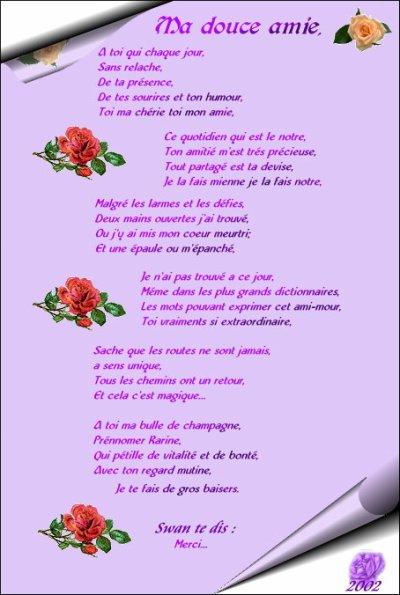 Le Plus Beau Poème Pour Une Amie Ou Un Ami Blog De Lisa06580