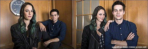 Photoshoot | Dylan et sa co-star Kaya ont posé pour un photoshoot encore inconnu.