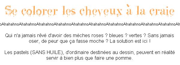 Cσℓσʀeʀ ses cheνeux (cσuʀтe duʀée).