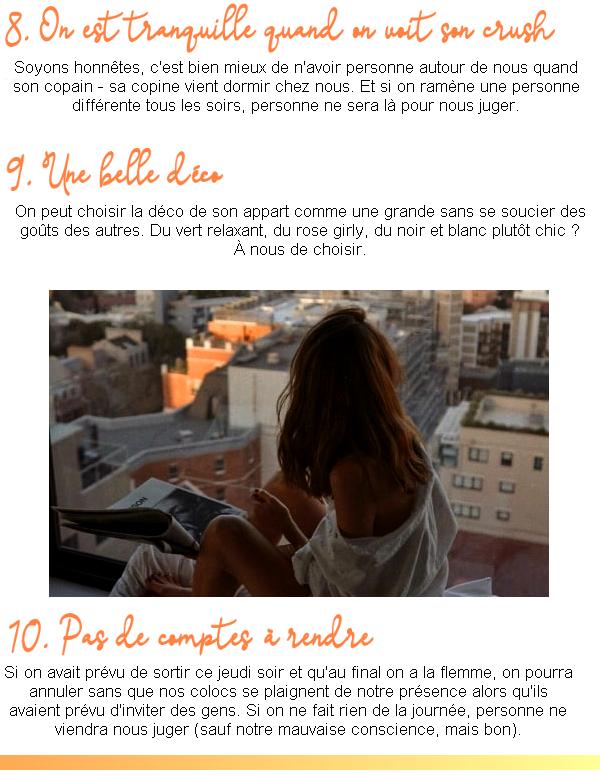 10 ɓσnnes ʀɑisσns d'hɑɓiтeʀ seuℓe