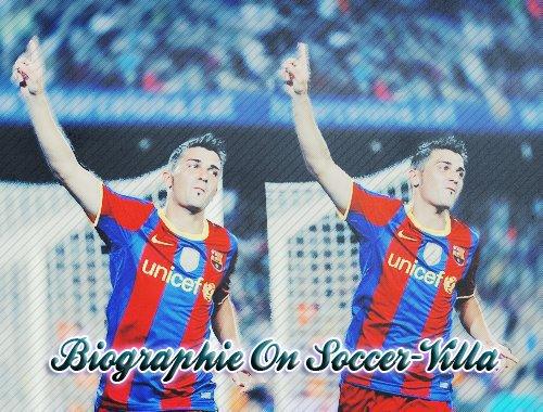 Biographie de David Villa on Soccer-Villa