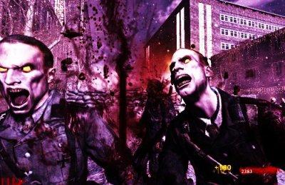 l'image de zombies