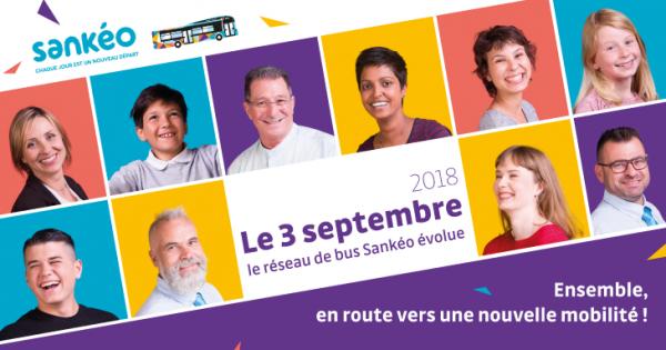 LE 3 SEPTEMBRE 2018, LE RÉSEAU SANKÉO ÉVOLUE