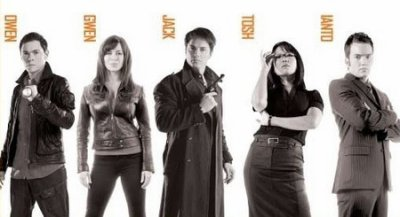 La team de torchwood (SAISON1,2 et 3)