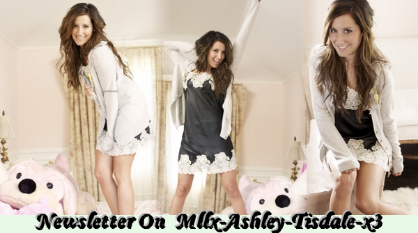 Newsletters On The Source About Ashley Tisdale !