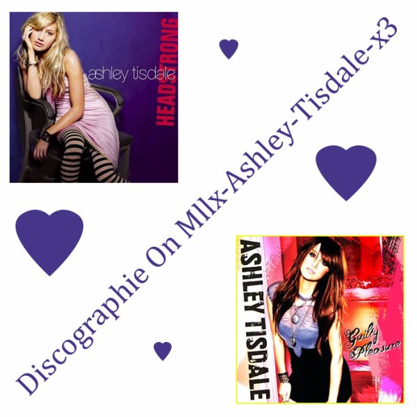 Sa Discographie On The Source About Ashley Tisdale !