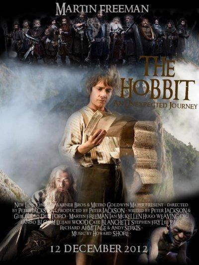THE HOBBIT : An Unexpected Journey - 12 DECEMBRE 2012