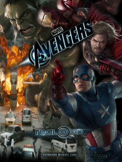 THE AVENGERS - AVRIL 2012