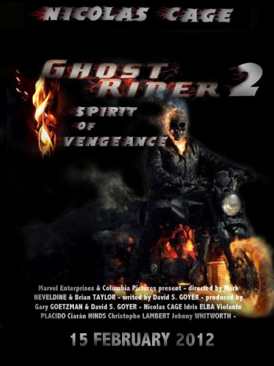 GHOST RIDER 2 : SPIRIT OF VENGEANCE - SORTIE LE 15 FÉVRIER 2012