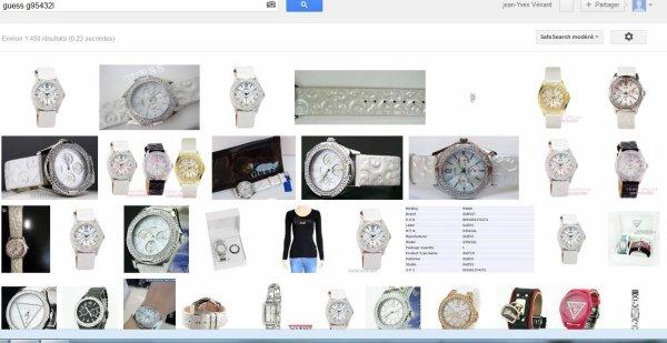 Comment reconnaitre une fausse montre Guess