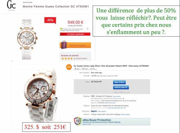 Un site qui vous aidera à trouver la montre originale de nombreuses marques