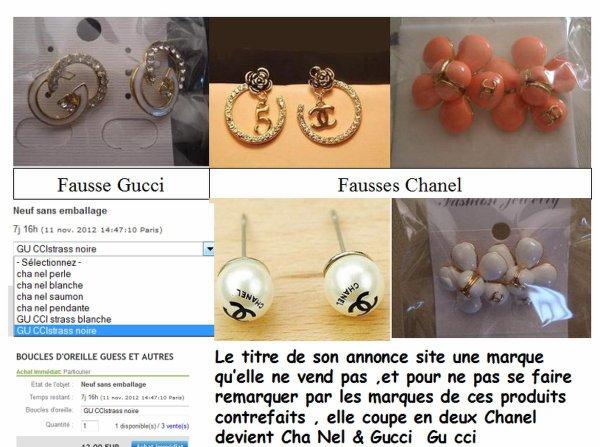 Bijoux contrefaits