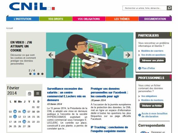 Défendez vos droits avec la CNIL (Commission Nationnale de l'informatique et des Libertés)