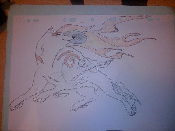 dessin d'OKAMI