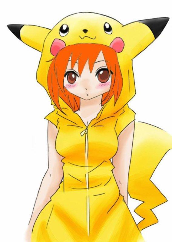 Kiyoshi en Pikachu