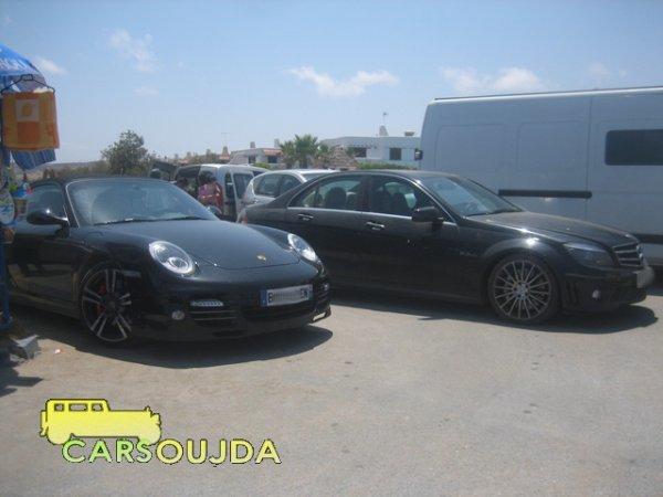 Porsche 911 Turbo VS C63 ////AMG