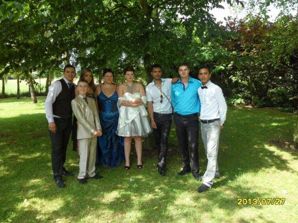 mes frères, soeurs et moi