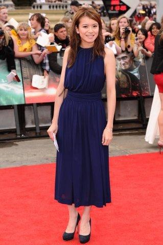 Katie-Leung à l'avant premiere Harry Potter 7 partie 1 à Londres le 26 Juillet 2011
