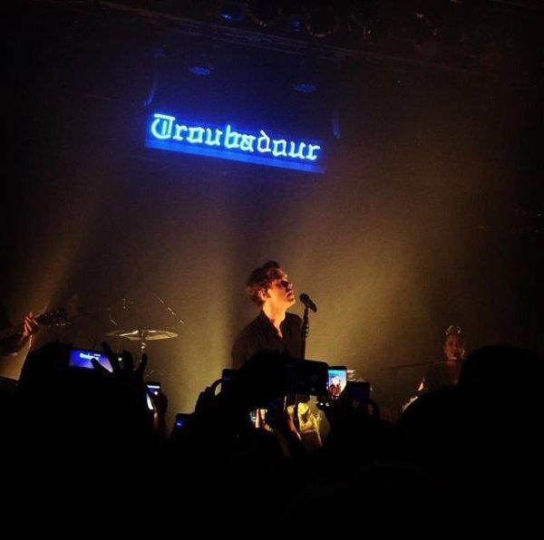 Harry en concert au Troubadour à Los Angeles le 19.05.2017