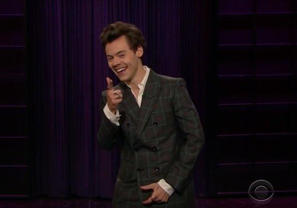 Harry remplaçant James Corden au Late Late Show  le 13.12.2017
