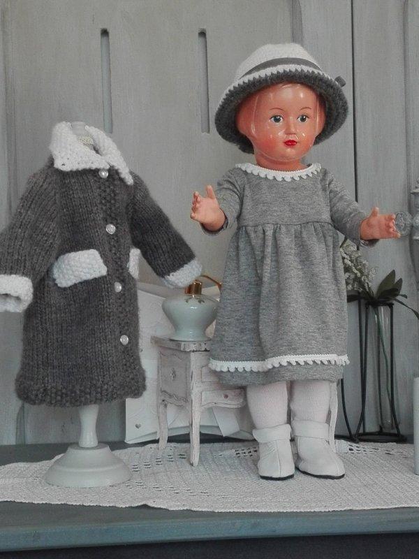 Les filles défilent en gris et blanc!