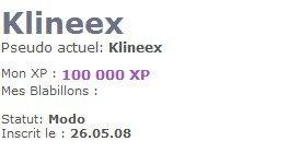 99 999, 100 000 et 100 001 xps !