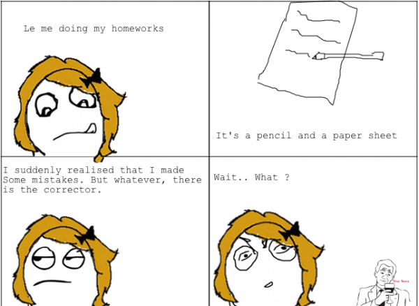 Really happend to me...