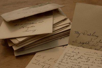 Une lettre perdue.