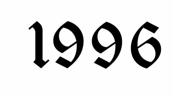 1996 année très spéciale