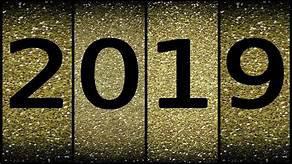 2019:  La seconde  partie de l'année