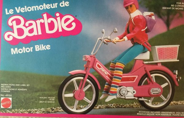 Velomoteur Barbie
