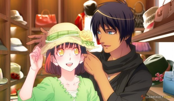 Scan du mangas (?) & du jeu :