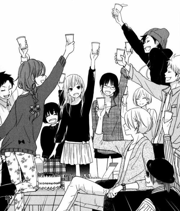 Scan du mangas : Tonari no kaibutsu-kun