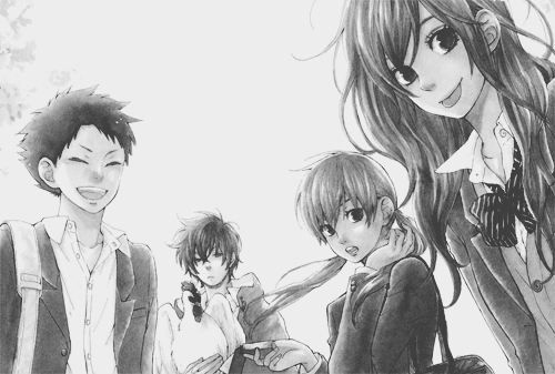 Images venant d'un Artbook ou autres : Tonari no kaibutsu-kun