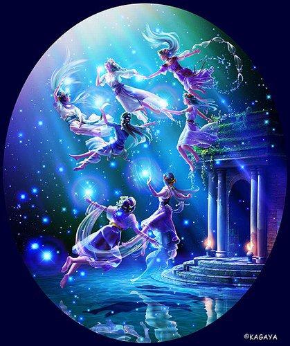 La danse des anges
