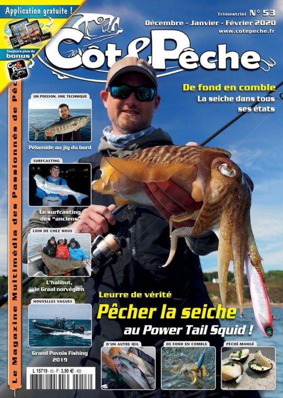 Coté&pêche n 53 article sur le surf-casting en Aquitaine