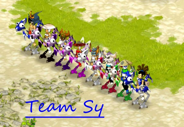 Voila ma Team !