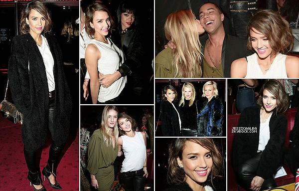 28.02.2014 - Jessica Alba seule a été au défilé haute-couture de la  marque Dior à  la Paris Fashion Week.Jess porte évidemment une tenue Dior de la tête au pied et pour l'instant elle se trouve encore sur Paris dans le Trocadéro.