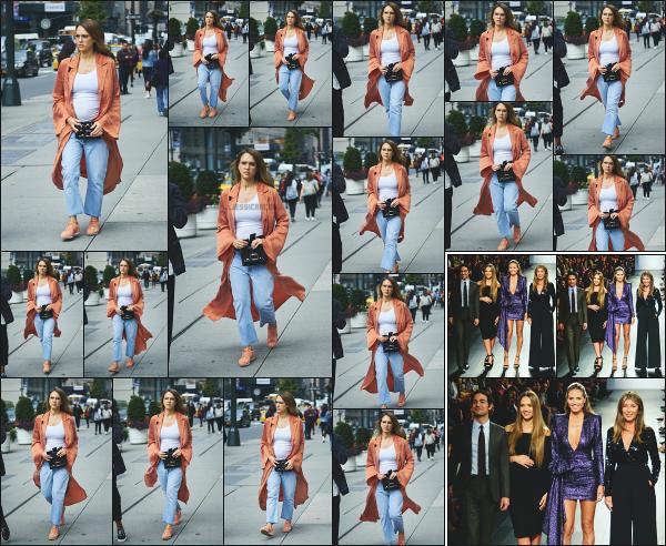 - 08.09.17 ─ La ravissante Jessica est photographiée se promenant avec son beau frère dans les rues de New York.[/s#00000ize]C'est de nouveau en compagnie de son beau frère, Grayson que nous retrouvons Jessica dans les rues de New York ! Je trouve sa tenue vraiment jolie !   -