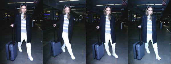 - 11.04.17 ─ Notre ravissante Jessica Alba est photographiée, arrivant dans l'aéroport « LAX » située à Los Angeles [/s#00000ize]Aucune indication sur la destination dans laquelle Jessica part malheureusement. Très peu de photos et de mauvaises qualités. Petit flop pour la tenue.   -