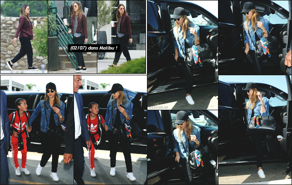 - 10.07.17 ─ Notre Jess' Alba est photographiée avec sa petite famille, arrivant à l'aéroport « LAX » de Los Angeles ![/s#00000ize]Jess prend donc l'avion en direction d'Hawaï pour des petites vacances en famille bien mérité !! Il semblerait qu'ils apprécient beaucoup cette destination. -