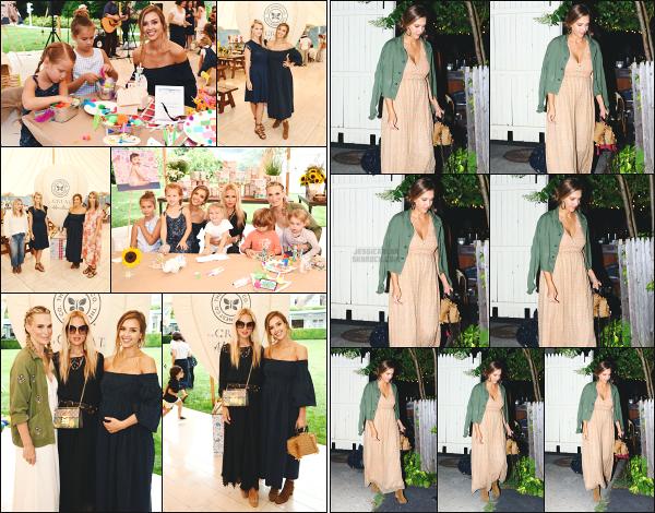 - 05.08.17 ─ Jess' Alba était présente à la fête « HonestxTheGreat » organisée par Baby2baby dans les Hamptons !![/s#00000ize]Jessica y était bien sur en compagnie de ses deux filles et voici la raison pour laquelle elle était à New York ses derniers jour ! Le soir, elle allait au restau   -
